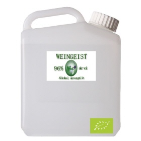 2500ml Weingeist 96%, Bio