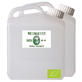 5000ml Weingeist 96%, Bio